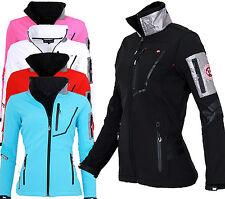 GEOGRAPHICAL NORWAY Damen Softshell Jacke Regen Übergangs jacke Outdoor Sport