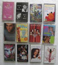 12 Cassette Tapes: Divas Live, My Best Friends Wedding, Now & Then, Selana, etc.