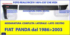 MODANATURE LATERALI FIAT PANDA 4X4 1986 - 2003 Kit PARACOLPI PROTEZIONE Fiancata