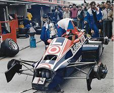 KEKE ROSBERG WILLIAMS FW09 1984 BRITISH GP ORIGINAL PERIOD PHOTOGRAPH FOTO