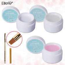 Elite99 Pro Nail Art Extension Tips Acrylic UV Gel 3D Builder Pink White Clear