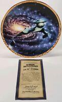 1994 Hamilton Star Trek Voyagers Klingon Battlecruiser Limited Edition Plate