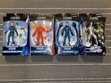 Marvel Legends: Mr. Fantastic, Invisible Woman, Human Torch & Silver Surfer