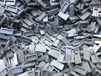 LEGO 3069 - Dark Grey Flat Tile 1x2 - 25 Pieces Or 50 Pieces