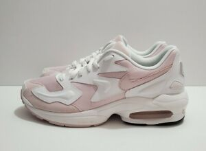 Nike Air Max 2 Light White Barely Rose Pink Women's Shoes Sz 8.5 (CK2602-100)