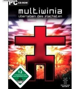 Multiwinia PC CD-ROM Game - Survival of The Flattest + Manual