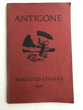 Antigone of Sophocles - Bradfield College - 1961 - Vintage Paperback Play - OUP