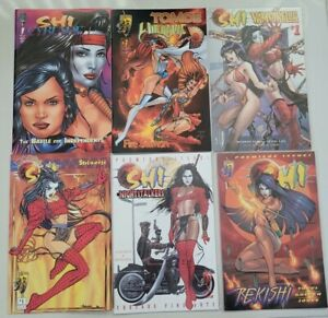 SHI LOT OF 39 CRUSADE COMICS WILLIAM TUCCI! 1ST APPEARANCE WITCHBLADE! TOMOE!