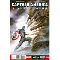 Captain America: Living Legend #3 in Near Mint + condition. Marvel comics [*ho]