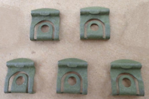 5 VINTAGE NOS REAR WINDOW MOLDING CLIPS! 1965-70 FORD/MERCURY MUSTANG COUGAR ETC