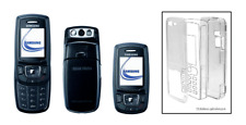 durchsichtige Kristall Hülle (Hartplastikhülle) ~ Samsung (SGH) E370