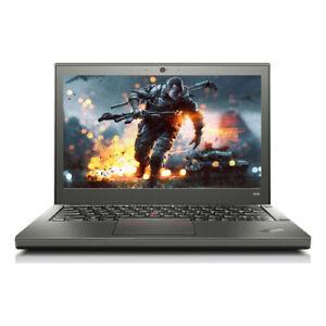 Lenovo ThinkPad X240 12in Ultrabook i7-4600U 8GB RAM 240GB SSD Win10Pro 1YrWty