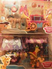2 My Little Pony Friendship Is Magic-Dolce Carrello & Benvenuto CARRO. NUOVO con scatola