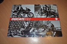 DEPLIANT Ducati gamme 2002