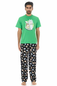 Rick and Morty Aww Geez 3 Pieces Set Lounge Pants T-Shirt and Men's Underwear
