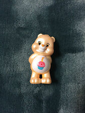 CARE BEARS PEARLIZED EDITION 3 COLLECTIBLE FIGURE BIRTHDAY BEAR