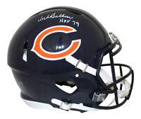 Dick Butkus Autographed Chicago Bears Authentic Speed Helmet HOF JSA 28638