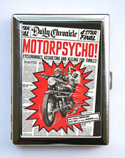 Motorpsycho Case Wallet Business Card Holder pulp retro motorcycle rock n roll