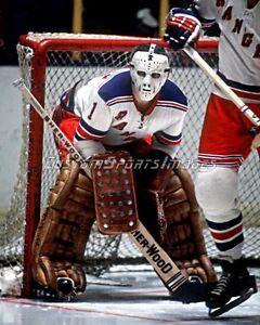 Ed Giacomin New York Rangers Photograph - 8x10 - Goalies of Hockey - Facemasks