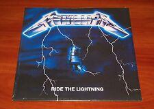 METALLICA RIDE THE LIGHTNING LP VINYL *RARE* E/M VENTURES PRESS EU UNIVERSAL New