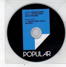 (DS436) Satellite Stories, The Kids Aren't Safe In The Metro - 2013 DJ CD