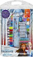 Disney Frozen 80 Pieces Arts And Crafts Educational Toys For Toddlers Boys Girls