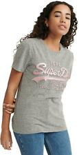 Superdry Vintage Logo Glitter Emboss T- Shirt