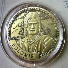 Boromir Lord Of The Rings Limited Edition 38mm Collectors Coin In Capsule