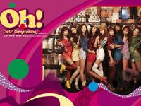SNSD GIRLS' GENERATION Korean Idol Singers Title (OH!) 2nd Album CD