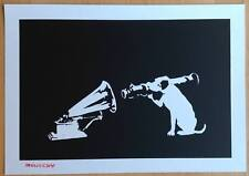 BANKSY - HMV - SCREEN PRINT