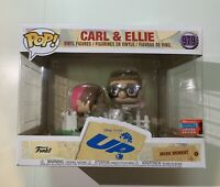 Funko Pop Disney Pixar's UP *Carl &Ellie* #979 NYCC Fall Convention Sticker 2020