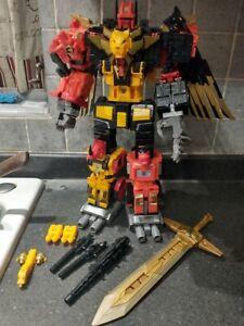 Transformers Power of the Primes Predaking w/ DNA DK-07 Installed w/ Onyx Prime