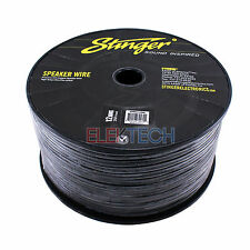 Stinger SPW512BK Audio Speaker Wire 12 Gauge Cable 250ft Spool Roll Black