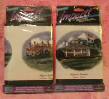 "2 PACKAGES IMPERIAL IMPACT WALLPAPER BORDER GOLF COURSES 6 3/4""  X  30'"
