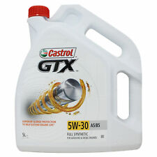 Castrol GTX 5w-30 A5/B5 Fully Synthetic Car Engine Oil - 5 Litres
