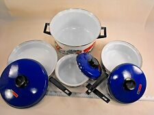 Vintage Retro Hendlers Pointerware Made in South Africa Pots and Pans - LFR