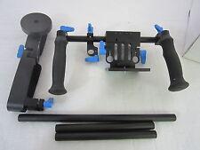 e-digital foto dslr shoulder mount rig mit gegengewicht und follow focus