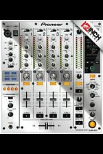 Pioneer DJM-850 SKINZ - METALLICS - MIRROR/SILVER (MAGNETIC TYPE)