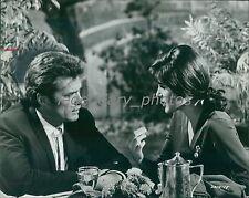 1969 Clint Eastwood and Susan Clark Coogan's Bluff Original News Service Photo