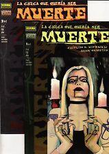 LA CHICA QUE QUERÍA SER MUERTE Saga completa (2 prestigios) NORMA, 2000
