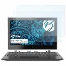 Bruni 2x Folie für Toshiba Portege Z20t-B-103 Schutzfolie Displayschutzfolie