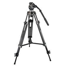 Camera Camcorder Video WF-717 1.3m Tripod Fuild Head Fr Canon Nikon Sony