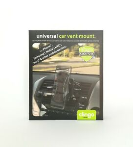 Clingo Universal Car Vent Mount Model 07023 Lüftungshalterung, black, Blister