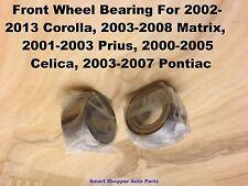 Corolla, Matrix, Prius, Celica, Scion TC Pontiac Vibe Front Wheel Bearing-Pair