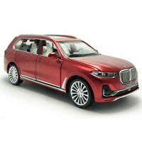 1:32 Scale BMW X7 2019 SUV Model Car Diecast Toy Vehicle Pull Back Red Kids Gift