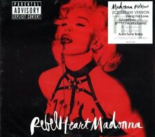 MADONNA Rebel Heart +Bonus Remixes 2CD Digipak BOX DELUXE Living For Love SEALED