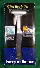 Car Emergency Glass Hammer Window Seat Belt Cutter Light Safety Escape Tool