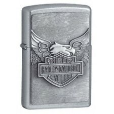 Zippo Zo10929 20230 Harley-davidson Lighter Harley Iron Eagle Street Chrome Thes