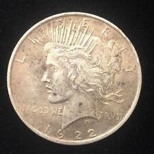 1922 Liberty Peace Dollar Coin Philadelphia Mint