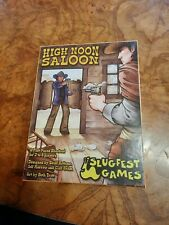 High Noon Saloon, 2011 Tabletop Game by Slugfest Games